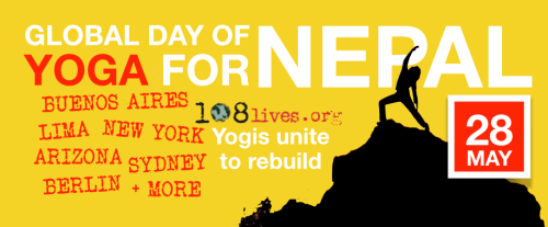 Global Day of Yoga for Nepal
